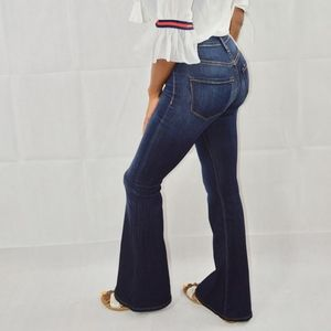 Denim - High Waist Bell Bottoms